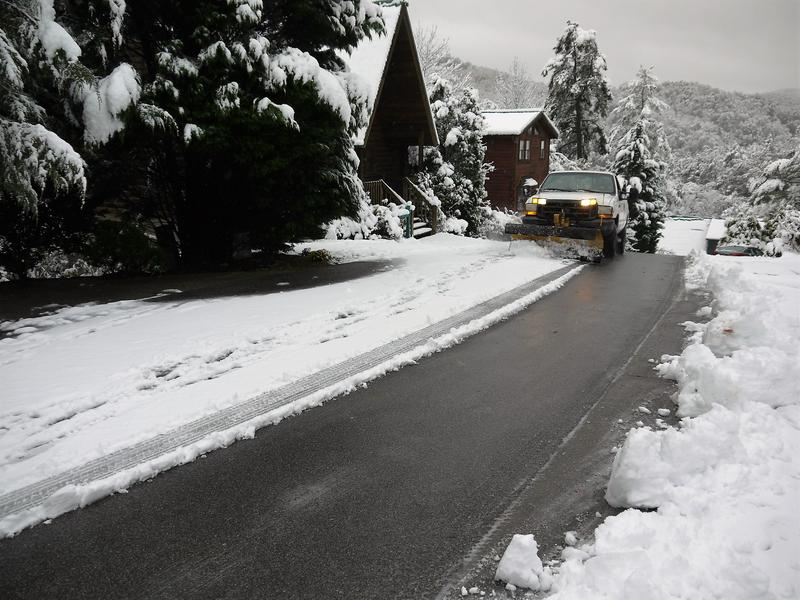 Our roads are well maintained even in winter conditions.