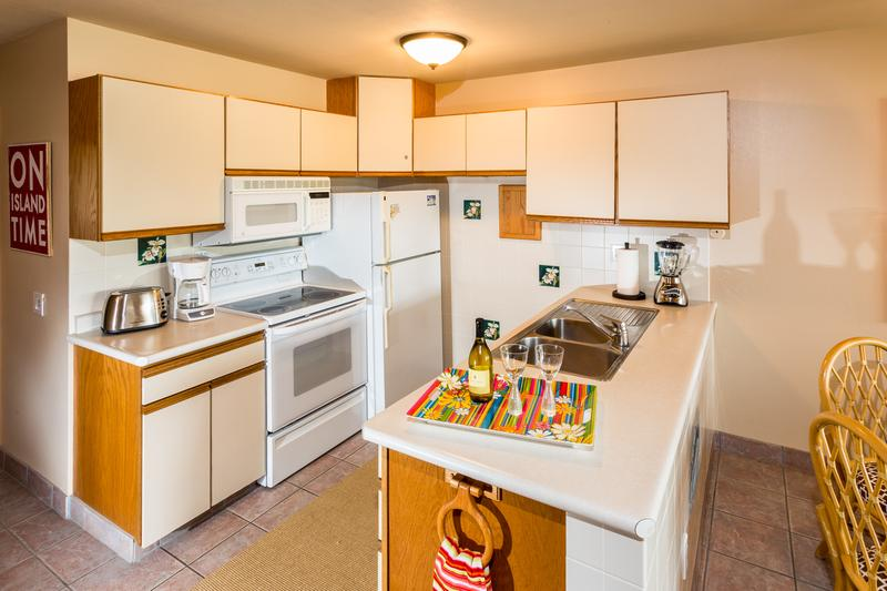 Fully equipped kitchen to prepare your favorite island meals.