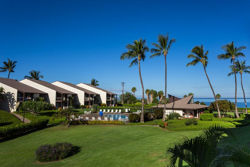 Soak up the beautiful view from the lanai!