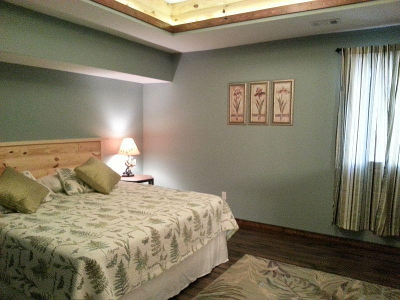 Newly added Masterbedroom with full bath in the basement.