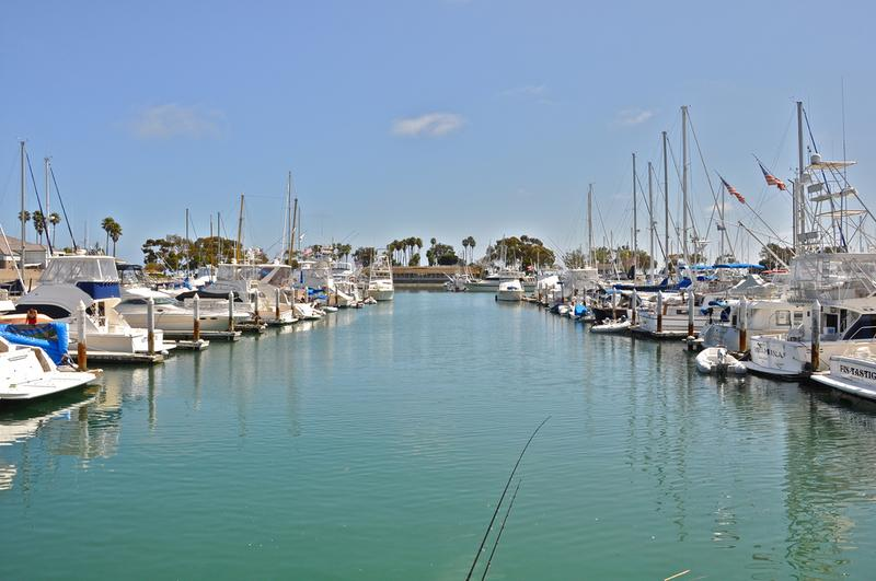 Boats in the Harbor at Dana Point California