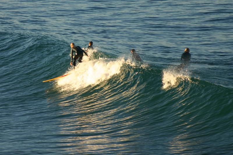 Learn to surf in Southern California