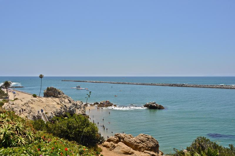 Local Beach Cove at Corona Del Mar California