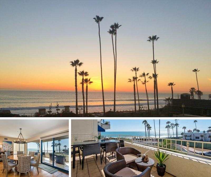 North Beach San Clemente Ocean view vacation rental ocean and beach views from dining room and balcony
