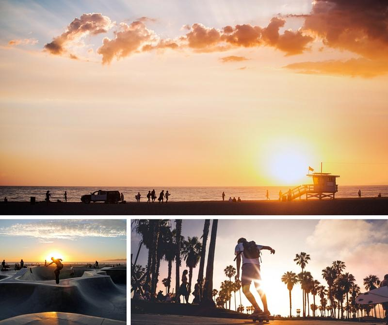 Sunsets at Venice Beach California California travel guide stunning sunsets that will make you want to visit the West Coast