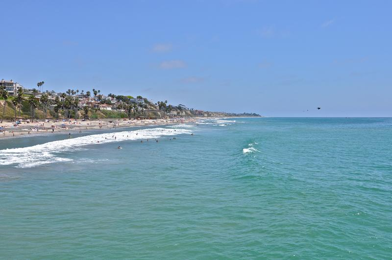 View from the San Clemente Pier