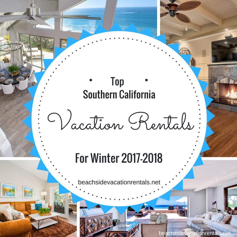 top vacation rentals for winter 2017-2018