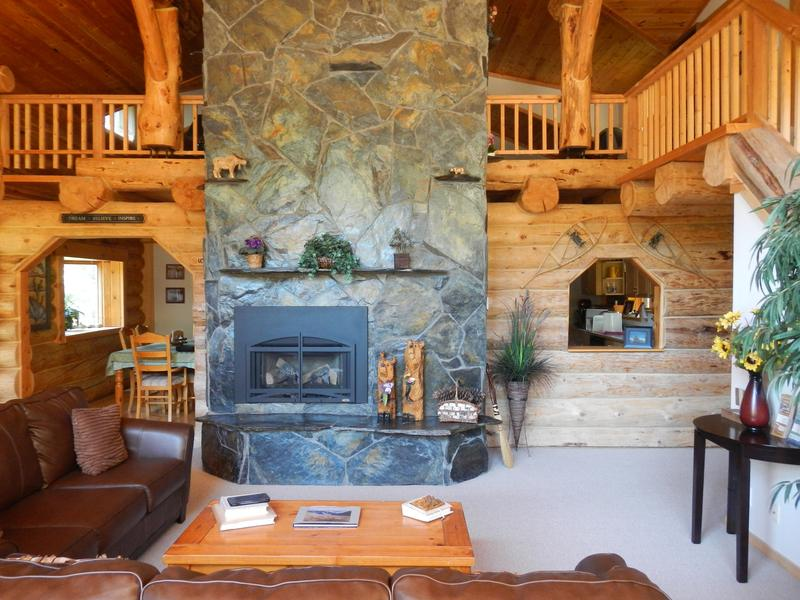 Unwind by the gas fireplace!