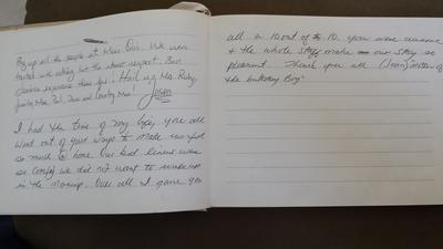 Source Villa Guestbook