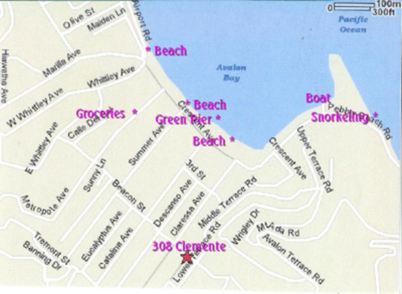 Location to Grocery, Beach and Ferry