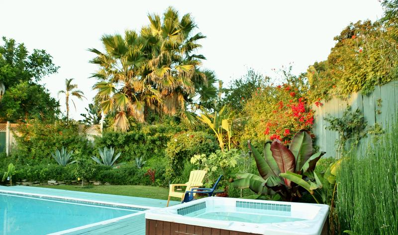 Your own Private Heated Pool and Spa in a Tropical Oasis Setting Year Round..