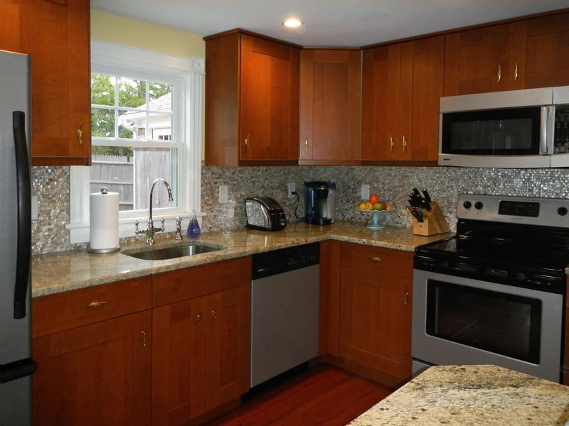 Falmouth Heights Cottage modern kitchen