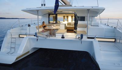 Helia sail charter yacht vadcation outdoor seating