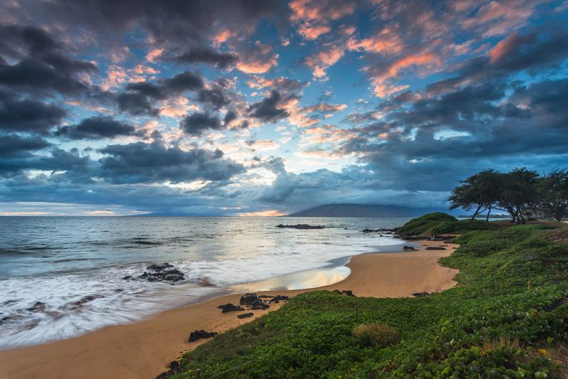 Just steps away from beautiful Kamaole III Beach.