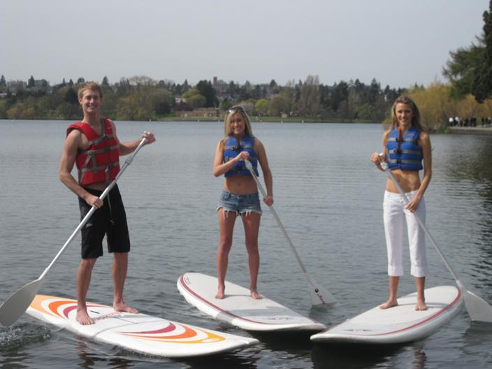 Paddle Boarding Lake Rathbun