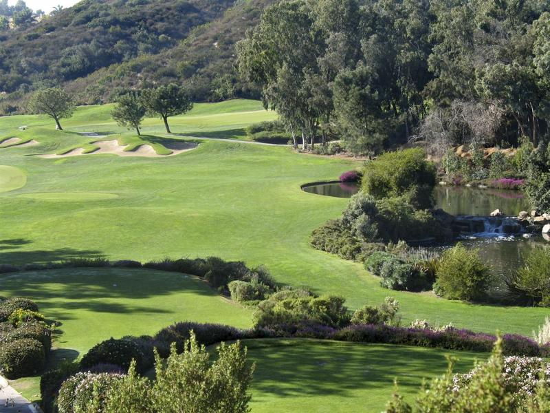 Local golf course in Carlsbad California