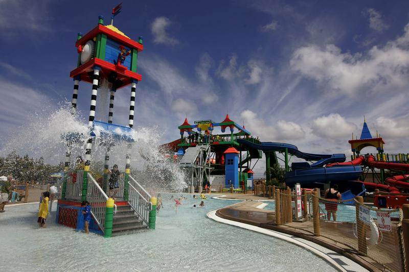 Waterpark at Legoland California