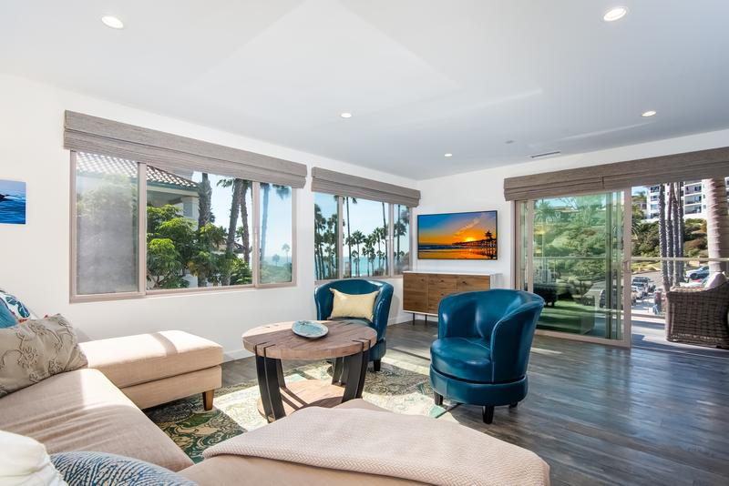 Casino ocean and golf course view condo in San Clemente Top Southern California vacation rentals for the perfect romantic getaway