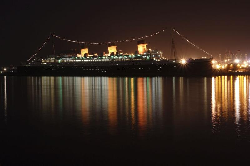 The Queen Mary at Long Beach California