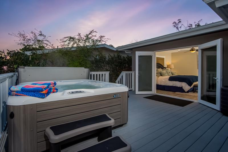 Vacation rentals reviews San Clemente vacation rental with hot tub