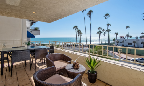 Ocean View Furnished Rental at North Beach San Clemente  OC Furnished Rentals