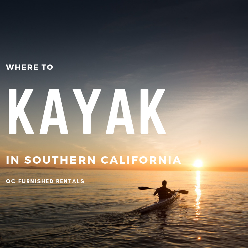 kayaking in southern california