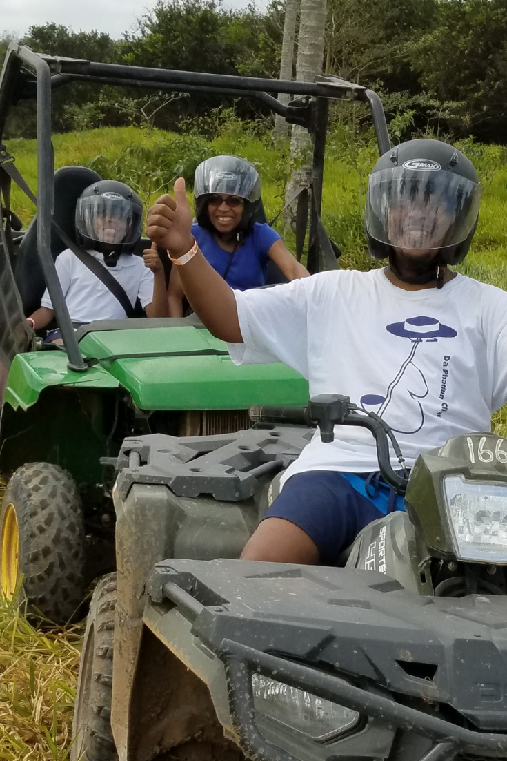ATV riding in Jamaica